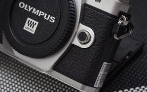 Картинка макро, стиль, фотоаппарат, Olympus OM-D, E-M10 Mark III