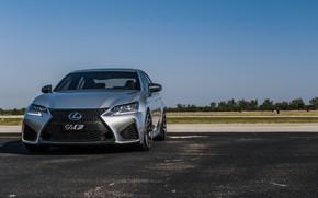 Картинка Lexus, Japan, Sky, Blue, New, Silver, Sight, GSF