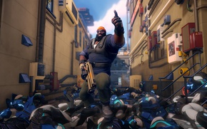 Картинка gun, game, weapon, dead, death, assassin, Agents of Mayhem