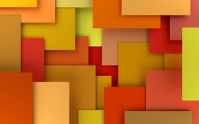 Обои design, 3D rendering, background, geometry, colorful, abstract, geometric shapes