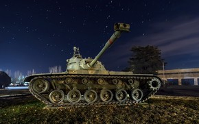 Обои M48 Patton, танк, оружие