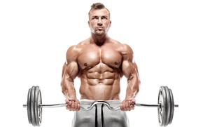 Картинка power, muscles, abs, bodybuilder