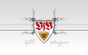 Картинка wallpaper, sport, logo, football, VfB Stuttgart