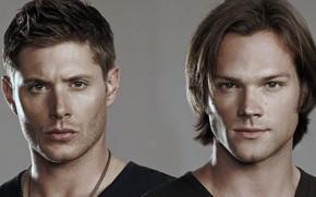 Картинка взгляд, братья, Дин, Supernatural, Сверхъестественное, Сем