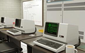 Обои компьютер, техно, эвм