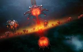 Картинка нечто, существа, The Xeno Armada
