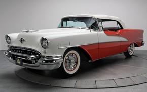 Картинка Retro, Convertible, 1955, Oldsmobile, Luxury, Starfire
