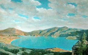 Картинка озеро, камни, сопки, Айбек Бегалин, 2009г, Баянаул
