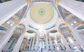Обои мечеть, Казахстан, Хазрет-Султан, Астана, архитектура