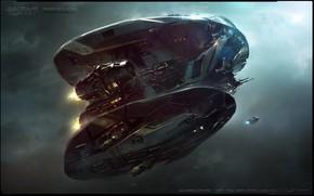Картинка Concept Art, Guardians of the Galaxy Vol 2, quadrant ship
