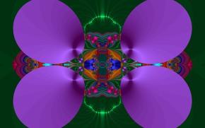 Картинка Узор, Абстракция, Яркие цвета