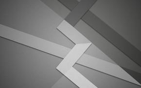 Картинка линии, абстракция, серый, геометрия, design, material