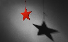 Обои тень, Advent, праздник, звезда