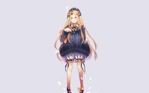 Картинка фон, девочка, бантики, Fate Grand Order