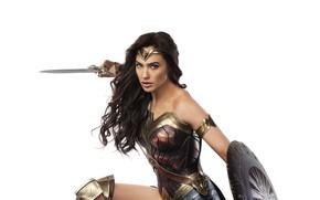 Картинка Wonder Woman, Gal Gadot, Чудо-Женщина