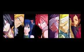 Картинка Cobra, Rogue, dragon, Wendy, Sting, Fairy Tail, Natsu, mahou, Laxus, Gajeel, madoshi, dragon Slayer