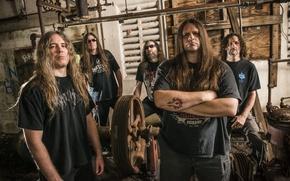 Картинка Rob Barrett, Paul Mazurkiewicz, Death Metal, Alex Webster, George Fisher, Pat O'Brien, Cannibal Corpse