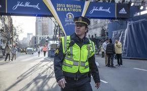 Картинка cinema, USA, Boston, man, movie, american, film, Mark Wahlberg, cop, uniform, seifuku, Patriots Day