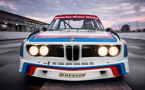 Обои BMW (E9), BMW 3 0, BMW 3.0 CSL (E9) 1975, BMW 3.0 CSL (E9), Капот, ...