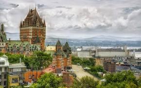 Обои Канада, Квебек, Chateau Frontenac Quebec, Quebec
