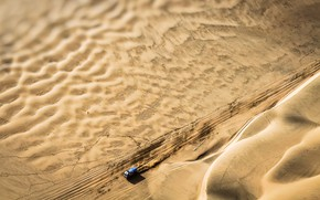 Картинка Песок, Спорт, Машина, Скорость, Грузовик, Гонка, Мастер, Сверху, Россия, Вид сверху, Kamaz, Rally, Dakar, КАМАЗ-мастер, …