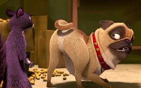 Картинка мультфильм, кадр, персонажи, снимок, роль, The Nut Job 2