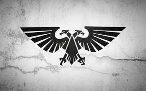 Картинка Аквила, Вархаммер, Warhammer 40 000, Aquila, Имперская Гвардия, Imperial Guard, Warhammer 40 000: Dawn of ...