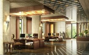 Обои дизайн, Foksal Office, помещение