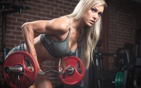 Картинка look, blonde, workout, fitness