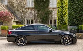 Картинка черный, BMW, M4