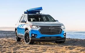 Обои 2017, SUP Concept, Traverse, Chevrolet