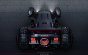 Картинка плиты, автомобиль, batmobile concept