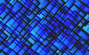 Картинка линии, абстракция, обои, квадрат