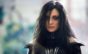 Обои Cate Blanchett, film, Marvel, Thor Ragnarok, movi, Hela, cinea, god, Thor
