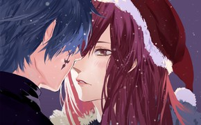 Картинка Jellal Fernandes, Erza Scarlet, FAIRY TAIL