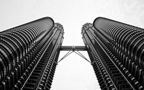 Картинка город, небоскребы, Куала Лумпур