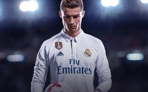 Картинка seifuku, Real Madrid CF, FIFA, FIFA 18, sport, uniform, Ronaldo Edition, Cristiano Ronaldo, game