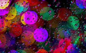 Картинка glass, water, art, macro, colour