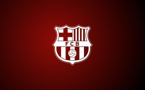 Картинка футбол, логотип, клуб, эмблема, Испания, Барселона, Barcelona