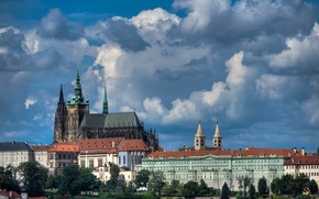 Картинка Прага, Чехия, Собор Святого Вита, Пражский град