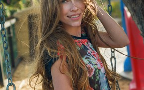 Картинка улыбка, модель, Девушка, красивая, Lyuda