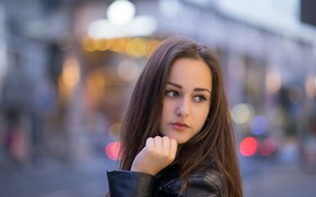 Картинка девушка, лицо, модель, волосы, милашка, Helena