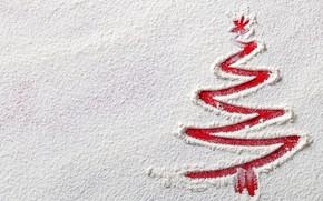 Картинка снег, елка, Новый Год, Рождество, Christmas, snow, New Year, Merry Christmas, Xmas, Christmas tree