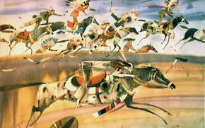 Картинка скорость, Индейцы, 2003, АРУШ ВОЦМУШ