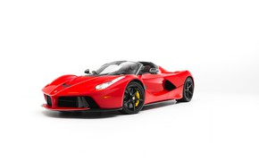Картинка Ferrari, White, Scuderia, RED, LaFerrari