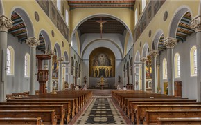 Обои Bavaria, церковь, Sankt Jakob, Friedberg, Германия