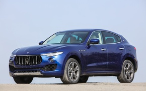 Картинка dark blue, итальянская, Maserati S.p.A., levante