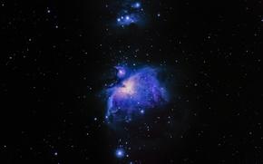 Обои туманность, звезды, космос