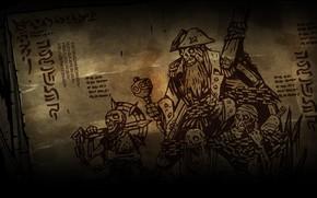 Картинка dead, skeletons, sailors, Darkest dungeon, Crews
