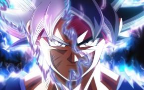 Картинка Instinct Dragon, Ball Super, Goku Ultra